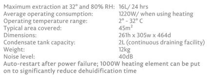 Aquaria 16 thermo info